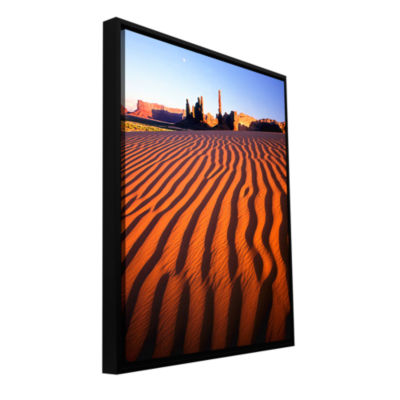 Brushstone Navajo Tribal Park Gallery Wrapped Floater-Framed Canvas Wall Art