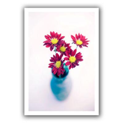 Brushstone Modern Flowers Canvas Wall Art