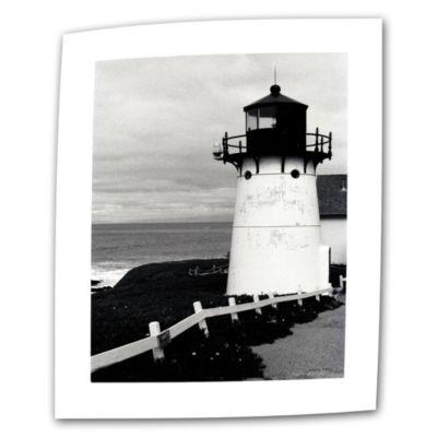 Brushstone Montara Lighthouse Canvas Wall Art