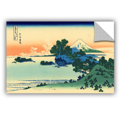 Brushstone Shichiri Beach In Sagami Province Removable Wall Decal