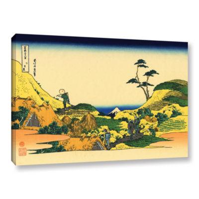 Brushstone Shimomeguro Gallery Wrapped Canvas WallArt