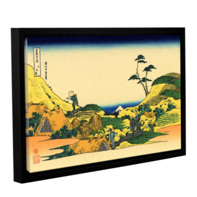 Brushstone Shimomeguro Gallery Wrapped Floater-Framed Canvas Wall Art