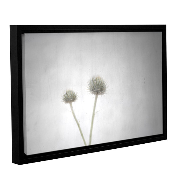 Brushstone Shine Gallery Wrapped Floater-Framed Canvas Wall Art