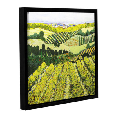 Brushstone Sharing The Discovery Gallery Wrapped Floater-Framed Canvas Wall Art