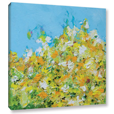 Brushstone Rousham Park Garden Gallery Wrapped Canvas Wall Art