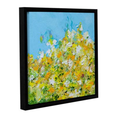 Brushstone Rousham Park Garden Gallery Wrapped Floater-Framed Canvas Wall Art