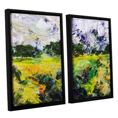 Brushstone Salisbury 2-pc. Floater Framed Canvas Wall Art