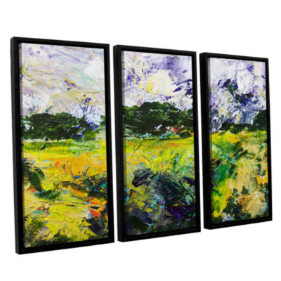 Brushstone Salisbury 3-pc. Floater Framed Canvas Wall Art