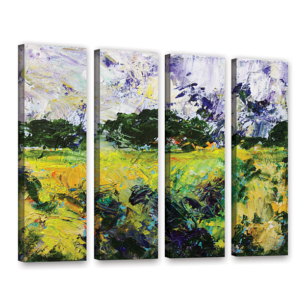 Brushstone Salisbury 4-pc. Gallery Wrapped CanvasWall Art