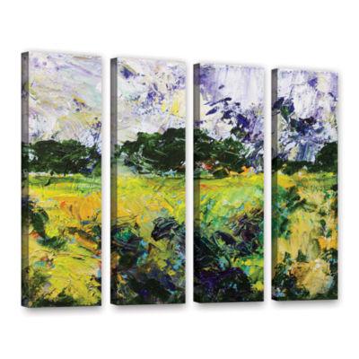 Brushstone Salisbury 4-pc. Gallery Wrapped CanvasWall Art