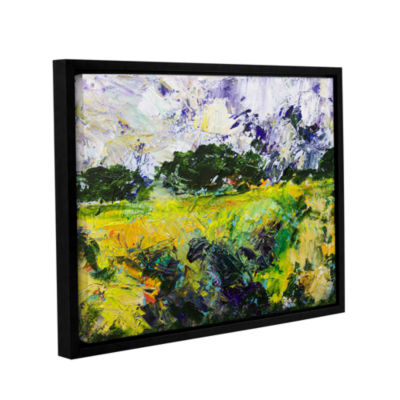 Brushstone Salisbury Gallery Wrapped Floater-Framed Canvas Wall Art