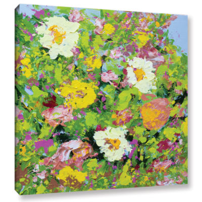 Brushstone San Souci Garden Gallery Wrapped CanvasWall Art