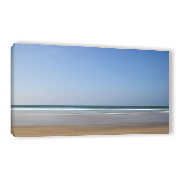 Brushstone Shore Lines 8 Gallery Wrapped Canvas Wall Art