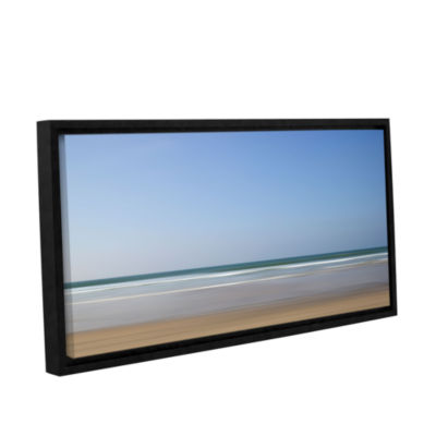 Brushstone Shore Lines 8 Gallery Wrapped Floater-Framed Canvas Wall Art