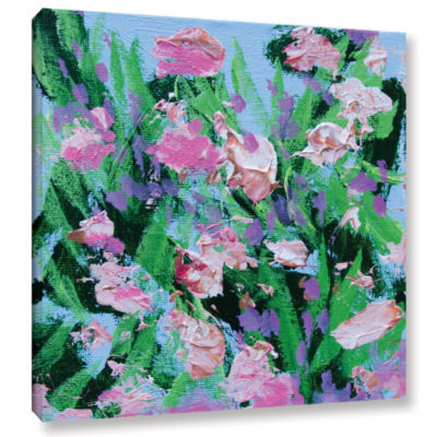 Brushstone Shalimar Garden Gallery Wrapped CanvasWall Art