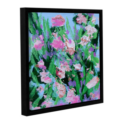 Brushstone Shalimar Garden Gallery Wrapped Floater-Framed Canvas Wall Art