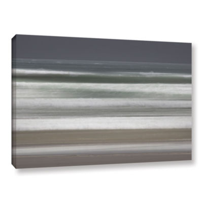 Brushstone Shore Lines 9 Gallery Wrapped Canvas Wall Art