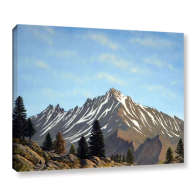 Brushstone Rugged Peaks Gallery Wrapped Canvas Wall Art