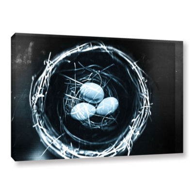 Brushstone Short Range Gallery Wrapped Canvas WallArt