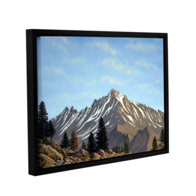 Brushstone Rugged Peaks Gallery Wrapped Floater-Framed Canvas Wall Art