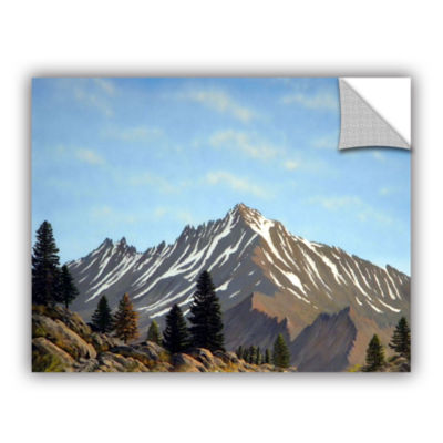 Brushstone Rugged Peaks Removable Wall Decal