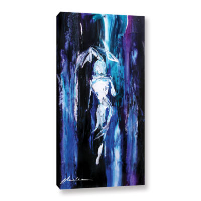 Brushstone Showers Gallery Wrapped Canvas Wall Art
