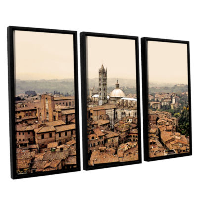 Brushstone Siena Landscape 3-pc. Floater Framed Canvas Wall Art