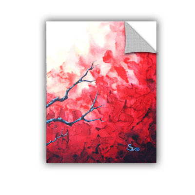 Brushstone Ruby Removable Wall Decal