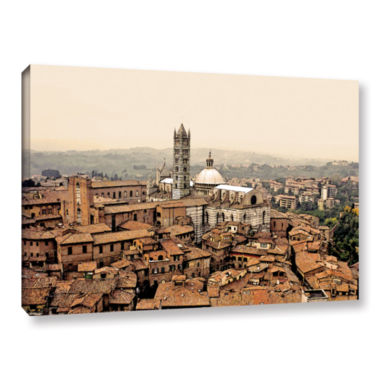 Brushstone Siena Landscape Gallery Wrapped CanvasWall Art