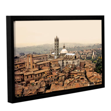 Brushstone Siena Landscape Gallery Wrapped Floater-Framed Canvas Wall Art