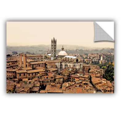 Brushstone Siena Landscape Removable Wall Decal
