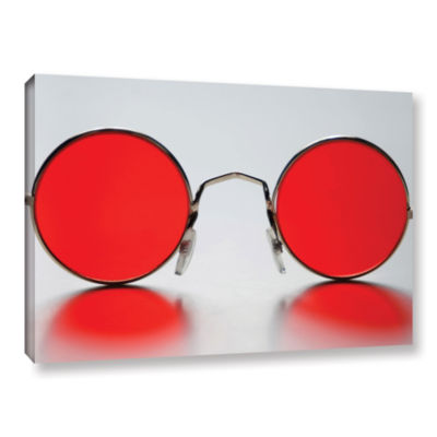 Brushstone Rose Colored Glasses Gallery Wrapped Canvas Wall Art