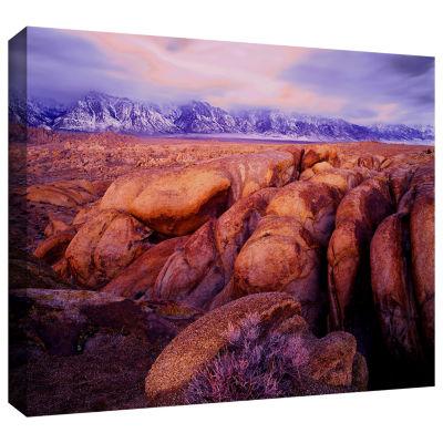 Brushstone Sierra Dawn Storm Light Gallery WrappedCanvas Wall Art