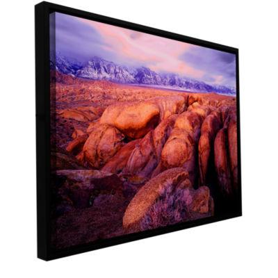 Brushstone Sierra Dawn Storm Light Gallery WrappedFloater-Framed Canvas Wall Art