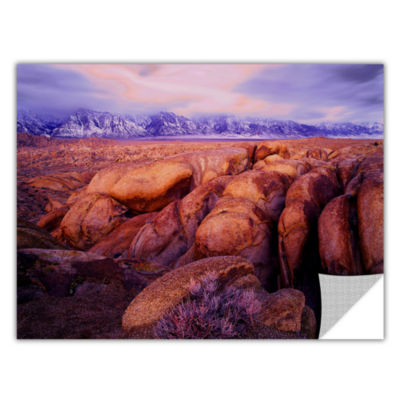 Brushstone Sierra Dawn Storm Light Removable WallDecal