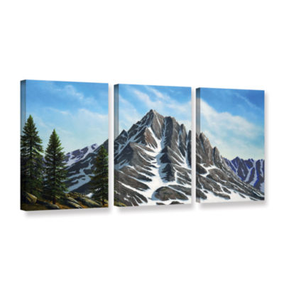 Brushstone Sierra Peak 3-pc. Gallery Wrapped Canvas Wall Art