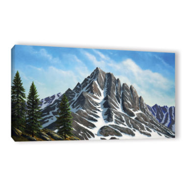 Brushstone Sierra Peak Gallery Wrapped Canvas WallArt