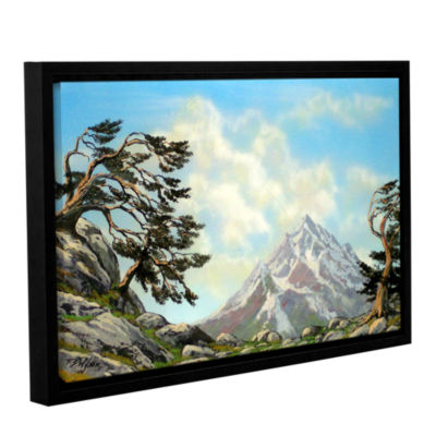 Brushstone Sierra Warriors Gallery Wrapped Floater-Framed Canvas Wall Art