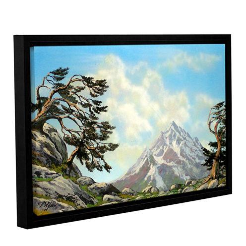 Brushstone Sierra Warriors Gallery Wrapped Floater-Framed Canvas Wall Art