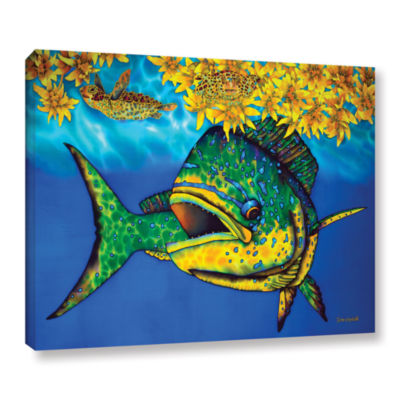 Brushstone Sargasso Heaven Gallery Wrapped CanvasWall Art