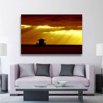 Brushstone Siesta Key Gallery Wrapped Canvas WallArt