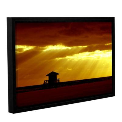 Brushstone Siesta Key Gallery Wrapped Floater-Framed Canvas Wall Art