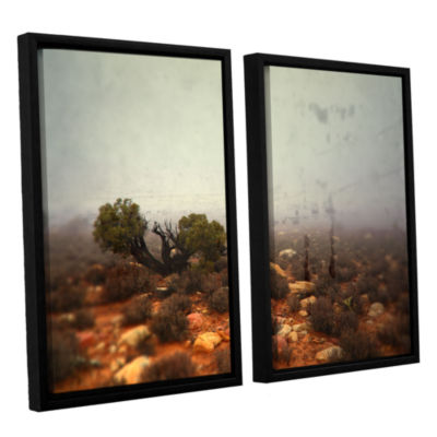 Brushstone Silent 2-pc. Floater Framed Canvas WallArt