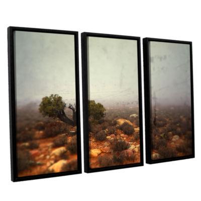 Brushstone Silent 3-pc. Floater Framed Canvas WallArt