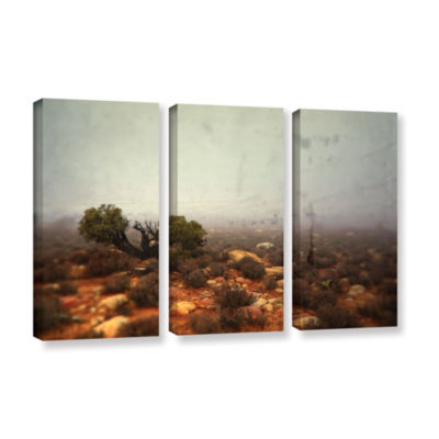 Brushstone Silent 3-pc. Gallery Wrapped Canvas Wall Art