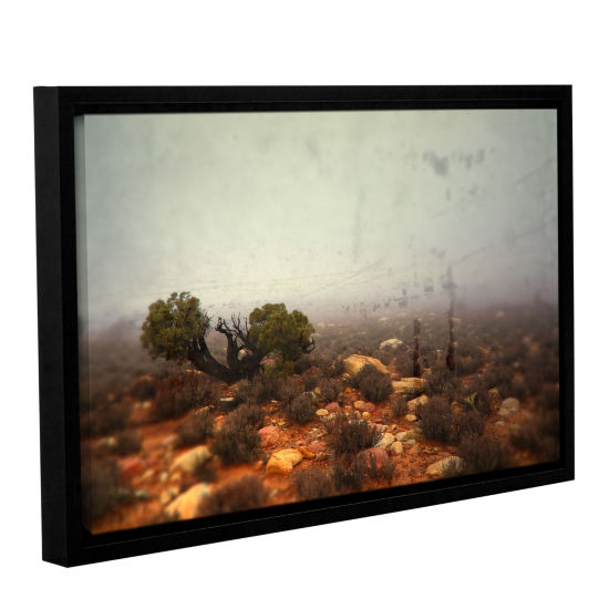 Brushstone Silent Gallery Wrapped Floater-Framed Canvas Wall Art
