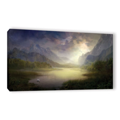 Brushstone Silent Morning Gallery Wrapped Canvas Wall Art
