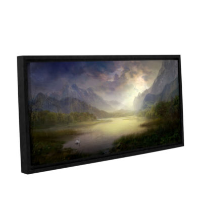 Brushstone Silent Morning Gallery Wrapped Floater-Framed Canvas Wall Art