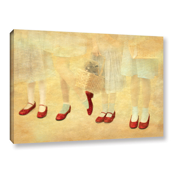 Brushstone Ruby Slippers Gallery Wrapped Canvas Wall Art