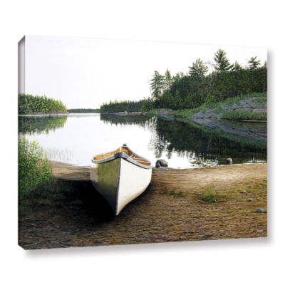 Brushstone Silent Retreat 1 Gallery Wrapped CanvasWall Art